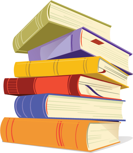Stack of books clipart png. Collection book high