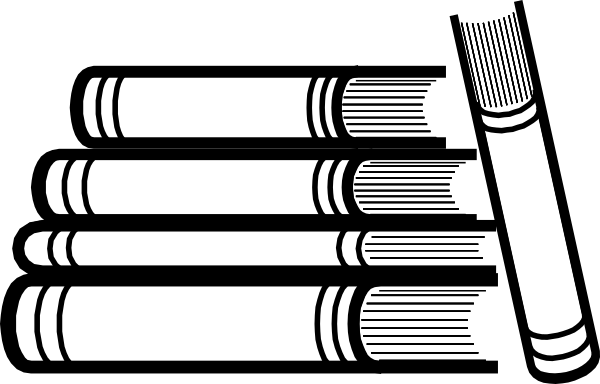 Stack of books clipart png. Clip art at clker