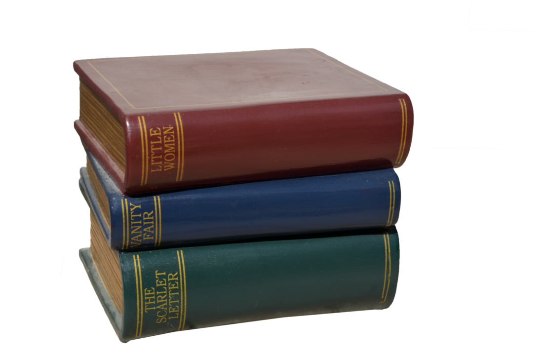 Stack of books png. Stock photo dsc by
