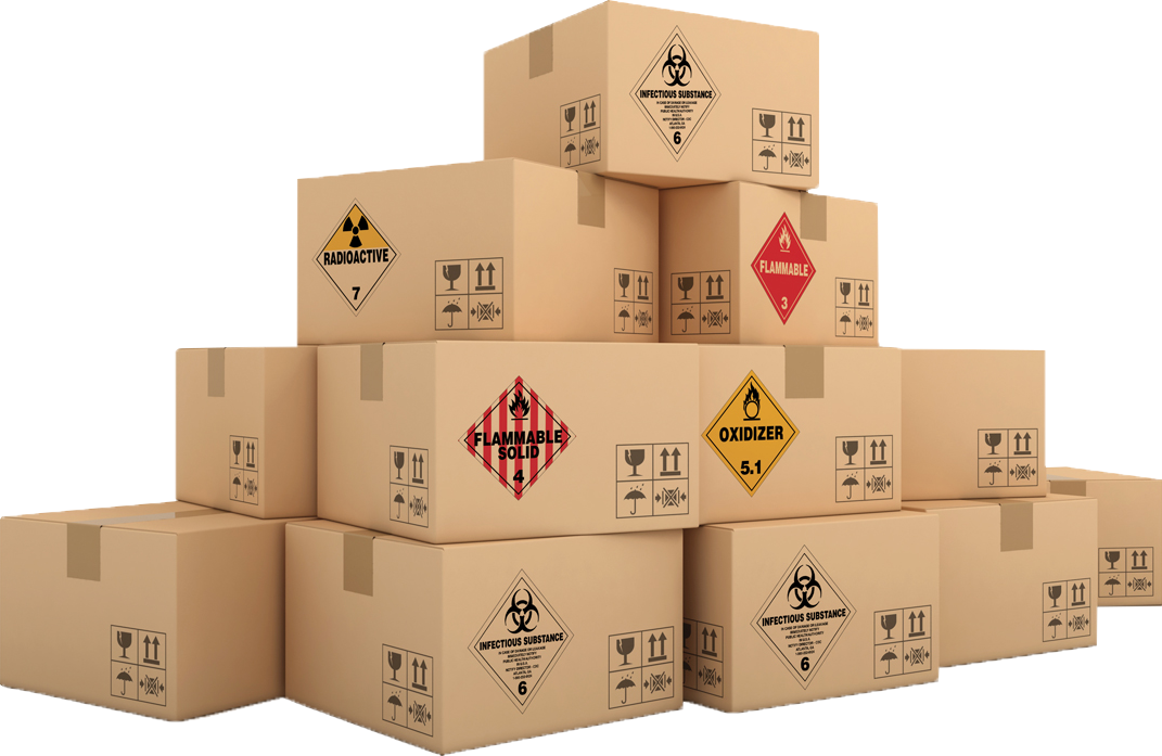Stack of boxes png. About us dangerous goods