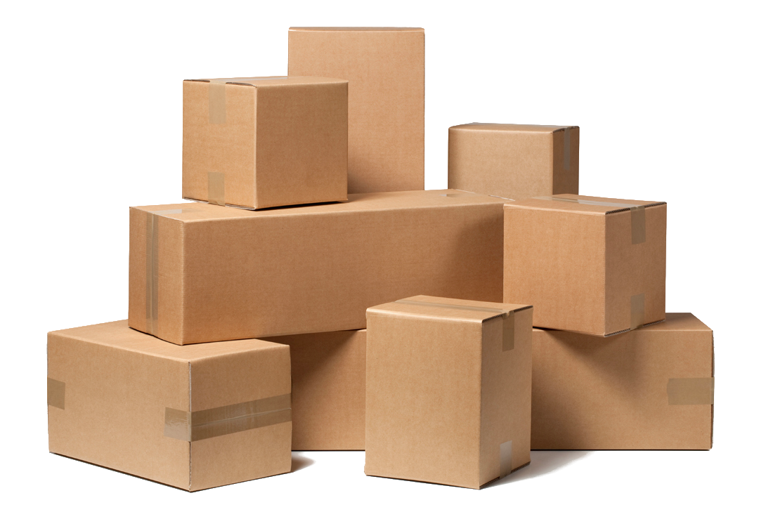 Stack of boxes png. Man and van ilford
