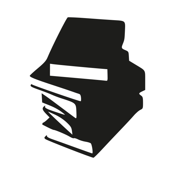 Book vector png. Tall stack of books