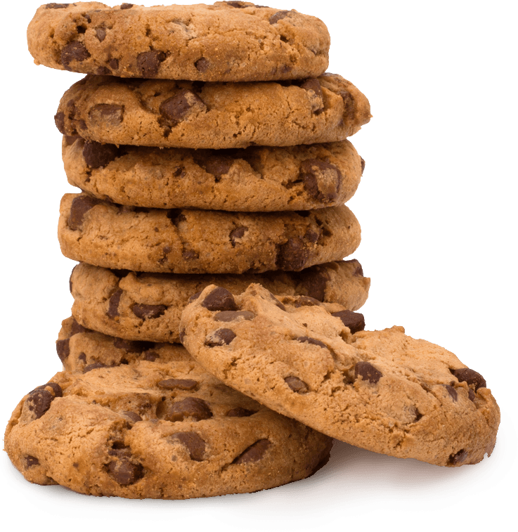 Stack of cookies png. Large transparent stickpng