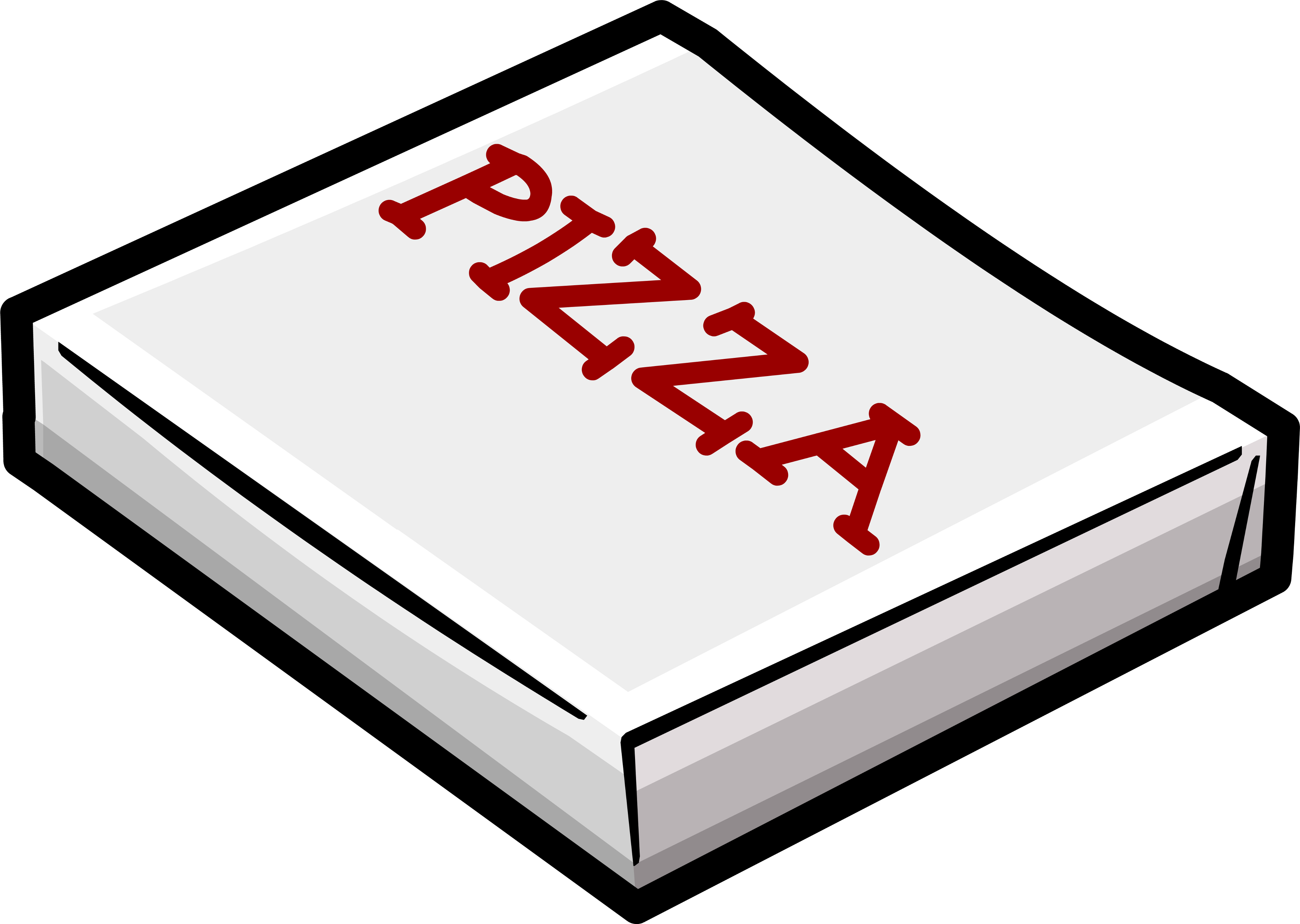 Stack of pizza boxes png. Box clipart ready to
