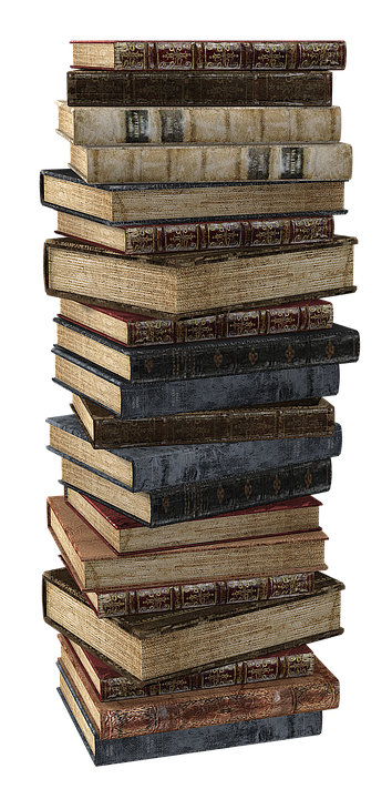 Stack of school books png. Free photo stacked book