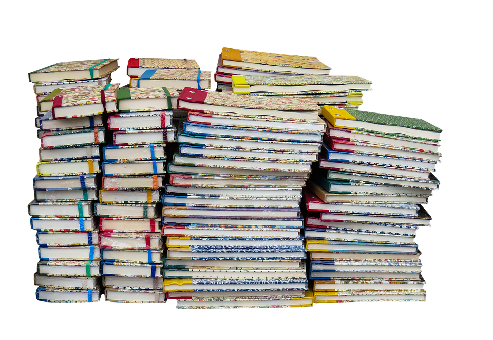 Stack of school books png. Free photo book education