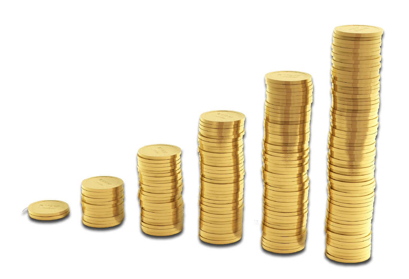 Stacked coins png. Pic mart