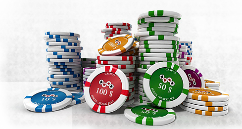 stacks of poker chips png