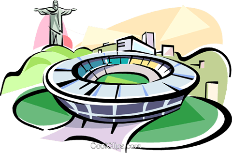 Stadium clipart at getdrawings. Creek vector rio clip art freeuse
