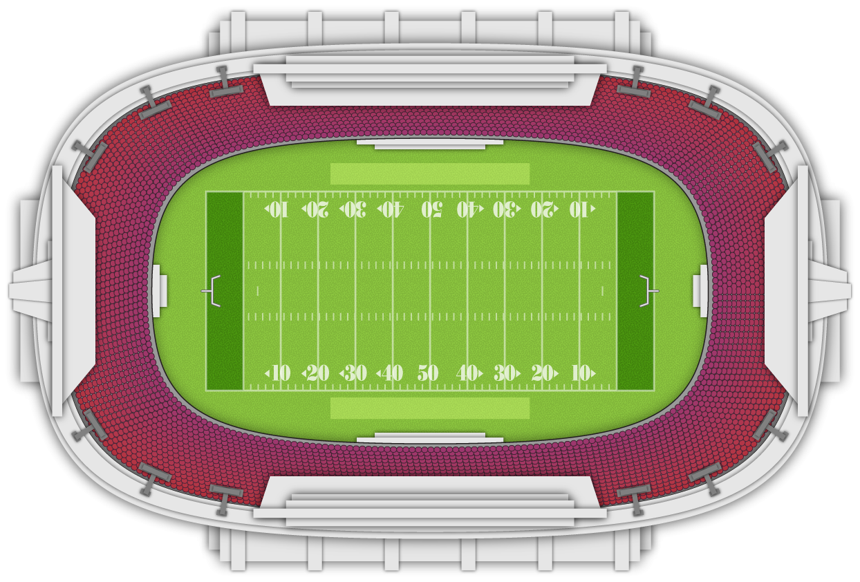 Crowd clipart stadium seating. Free football cliparts download