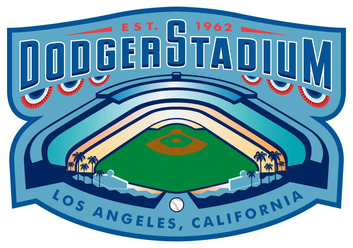 Stadium clipart outfield. Dodger wikipedia