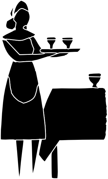 Staff clipart restaurant staff. A step by guide
