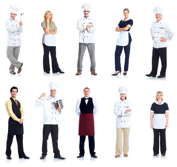 Staff clipart restaurant staff. Best people images