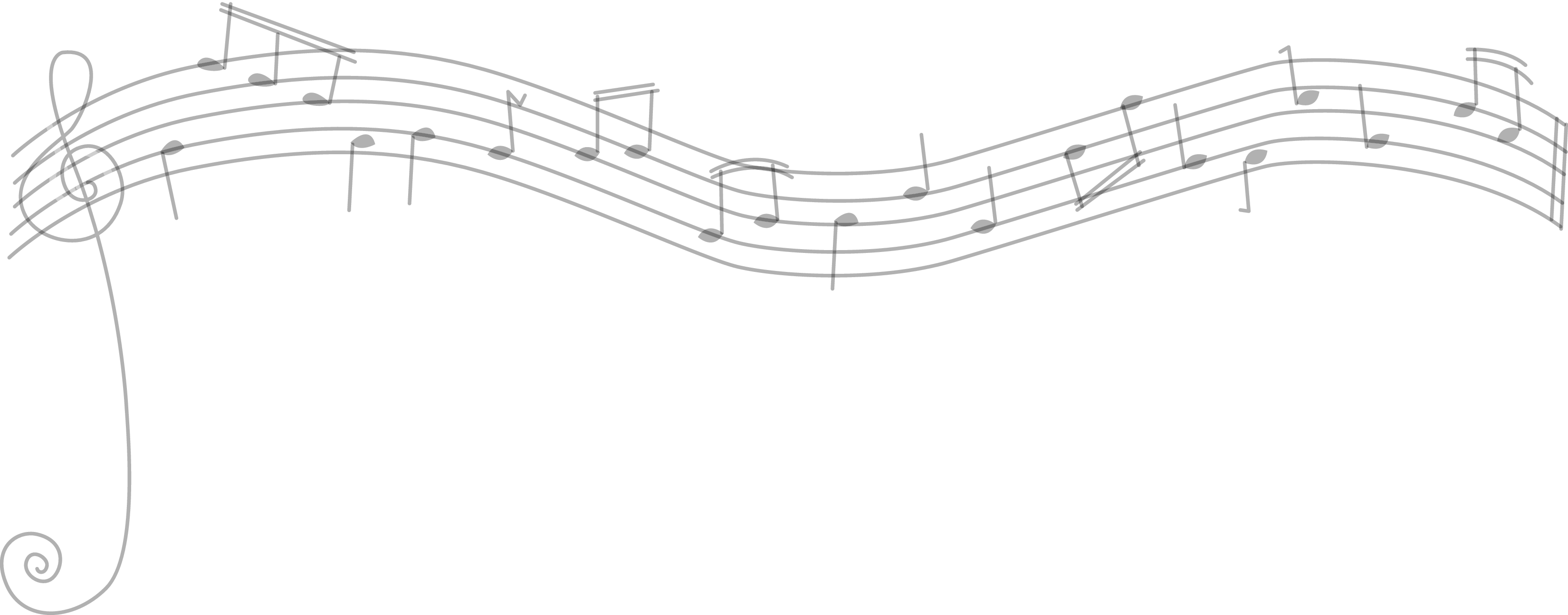 Staff music notes png. Musical on divider east