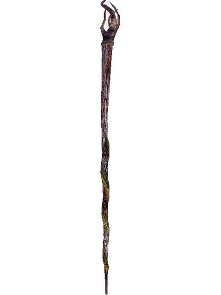 Image unfinished elder scrolls. Staff png picture black and white library
