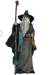 Gandalf transparent the hobbit. One wiki to rule