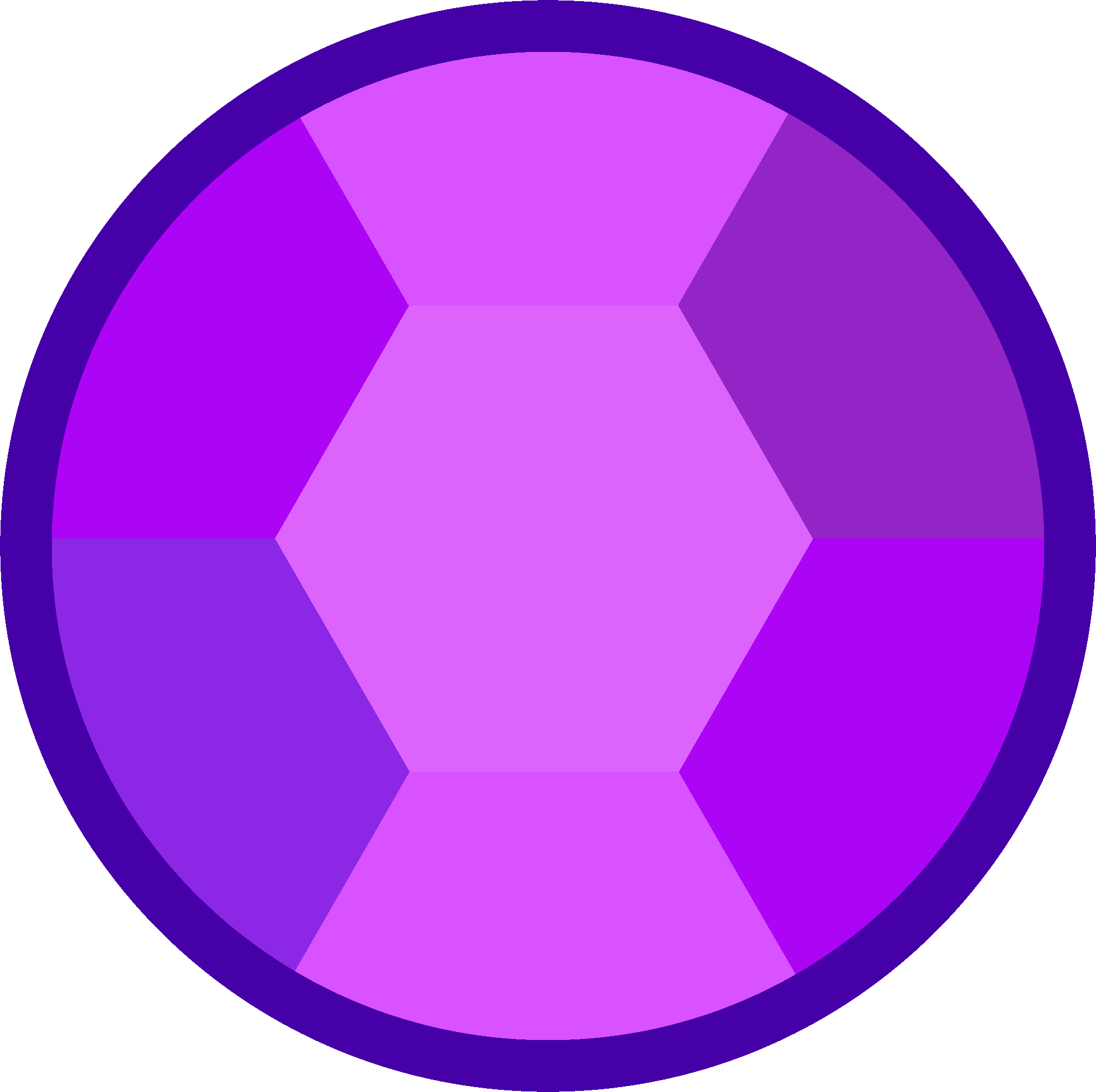 Gems vector circle. New css colors for