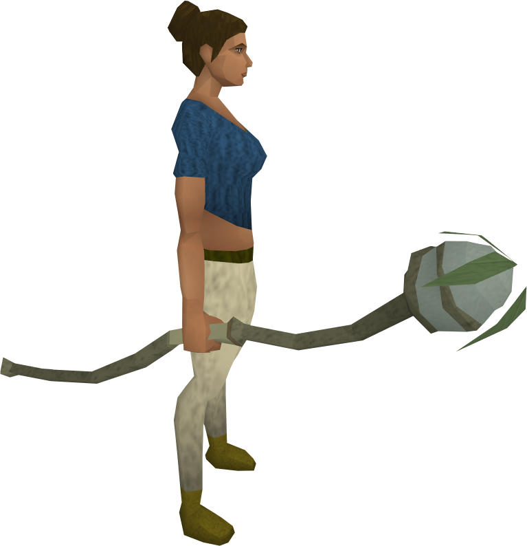 Staff transparent nature. Image equipped png runescape