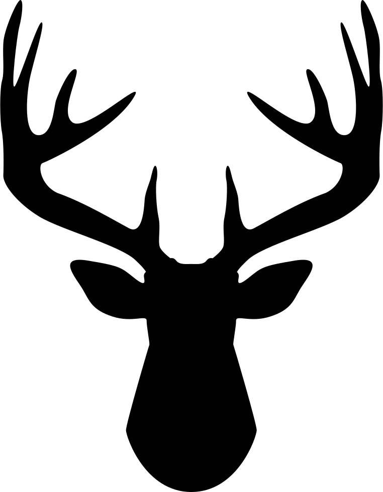 Stag vector pronghorn. Free deer icon png