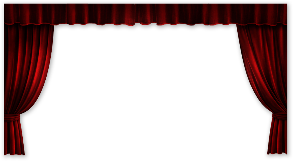 Stage png. Movie theatre frame scene
