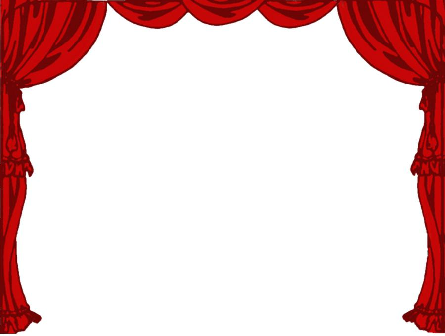 Stage clipart stage curtain. Lights clip art light