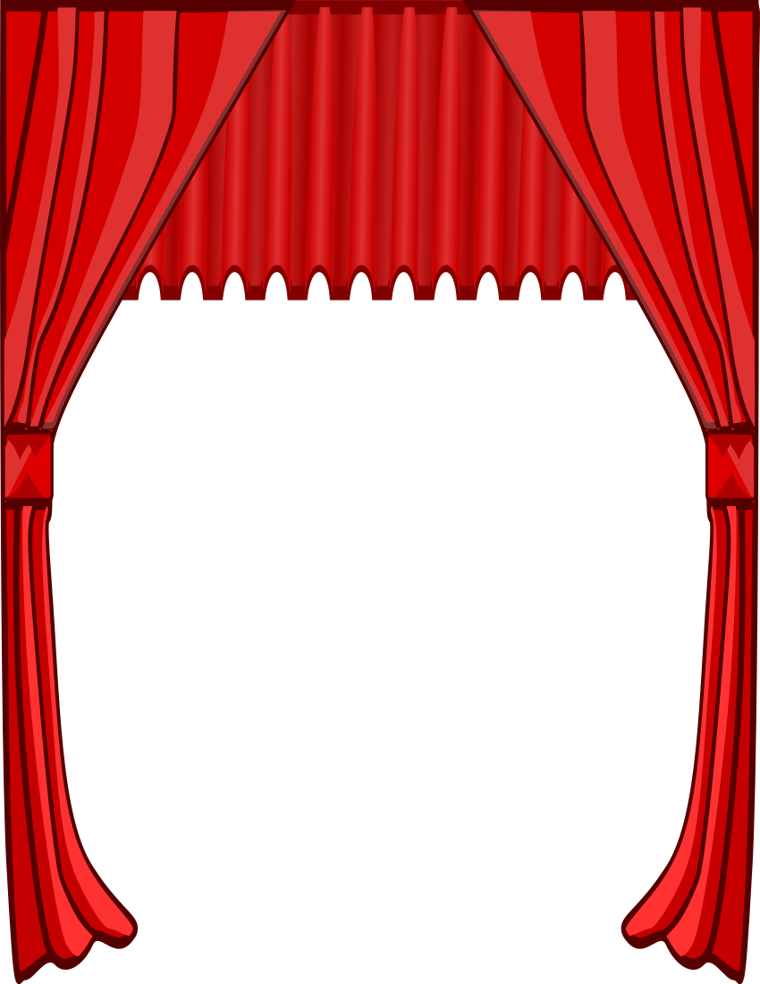 Stage clipart stage curtain. Tall page http panda