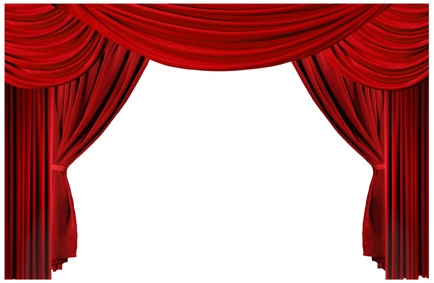 Stage curtain . Curtains clipart simple window graphic black and white stock