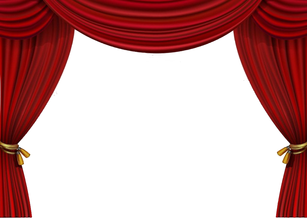 Stage curtain png. Theater drapes and curtains