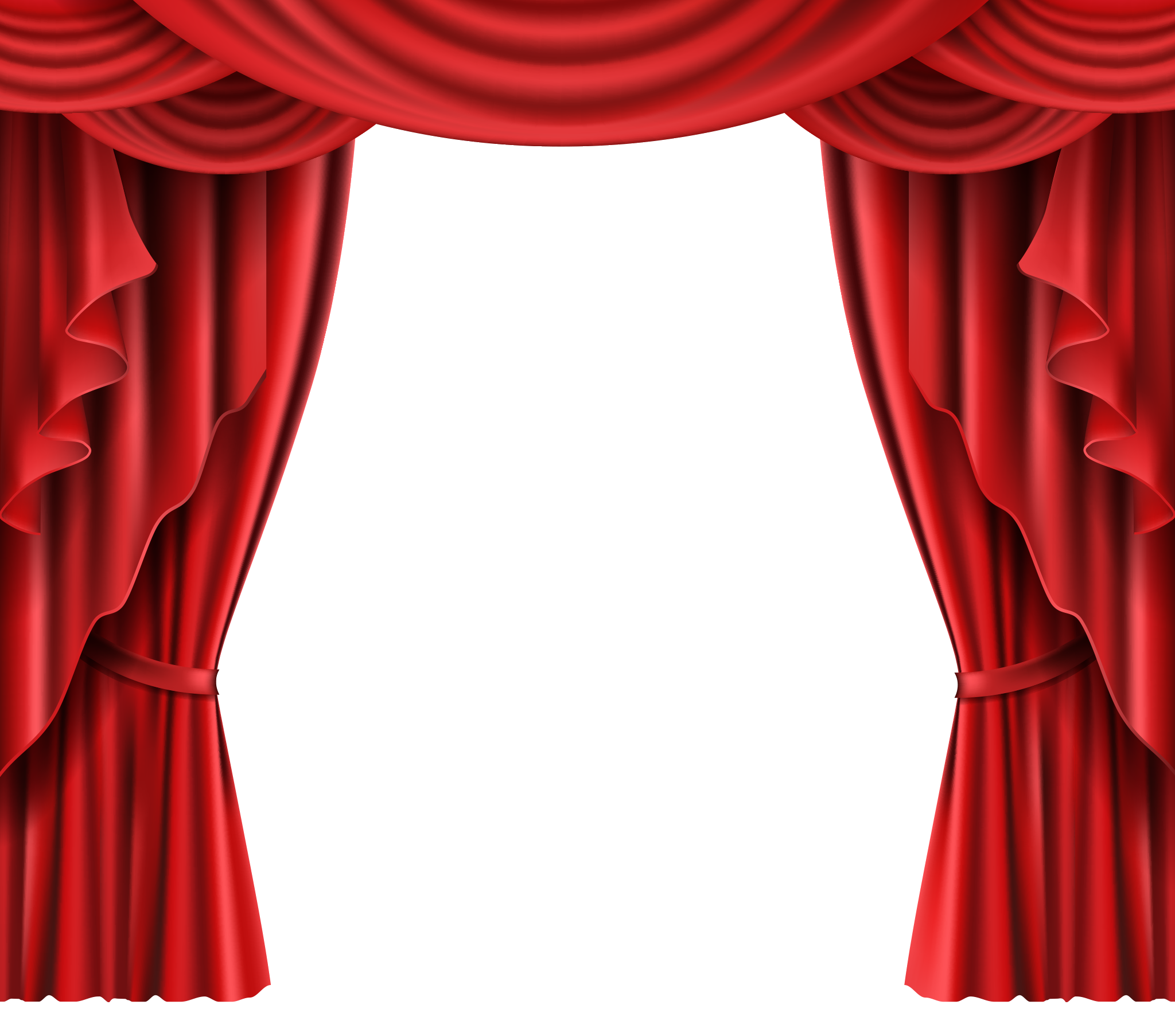Red stage curtains png. Theater hd image free