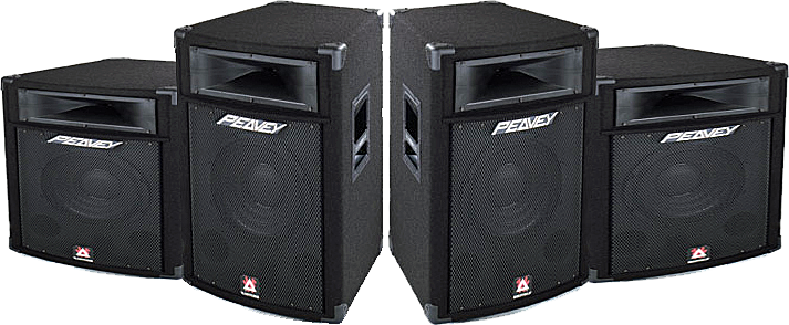 Stage speakers png. Black peavey psd official