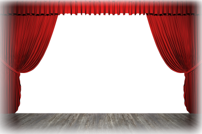 Stage transparent. Download curtain free png
