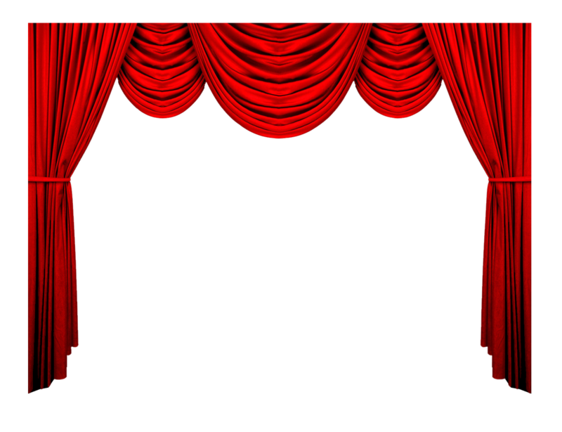 Stage transparent backround. Download free png red