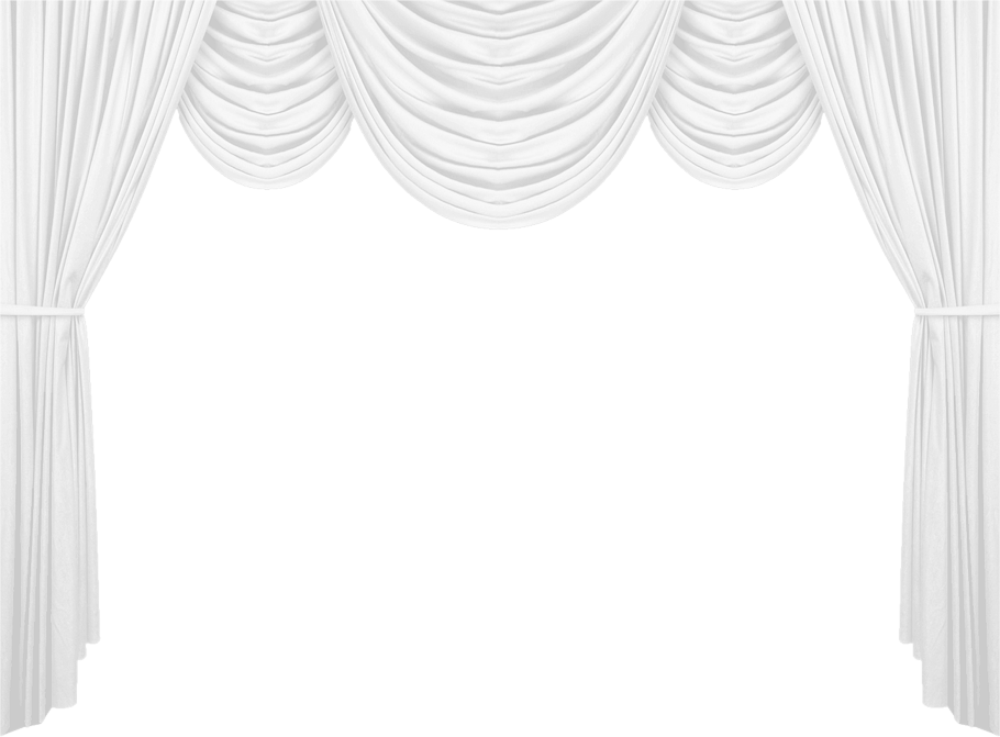 Stage transparent backround. Curtains png