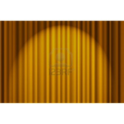 Stage transparent gold. A textured background