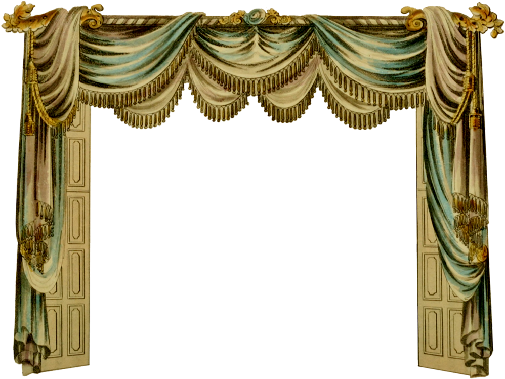Stage transparent gold. Download hd curtain room