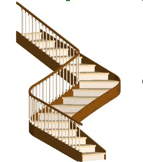 staircase clipart flight stair