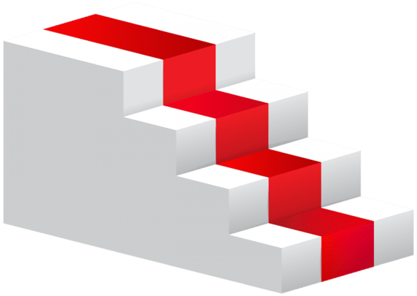 Stairs transparent red. Download clipart png photo