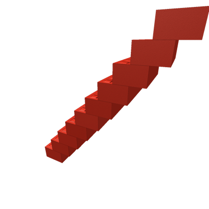 Staircase clipart red stair. Stairs roblox