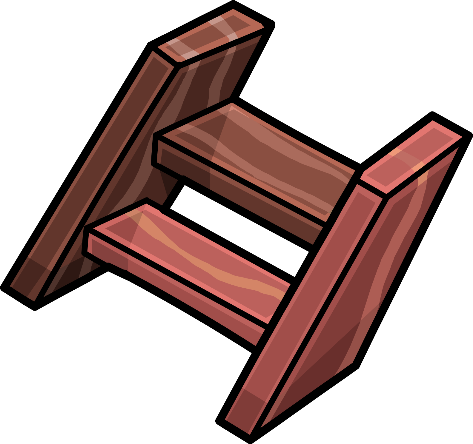 Staircase clipart red stair. Short wooden steps club