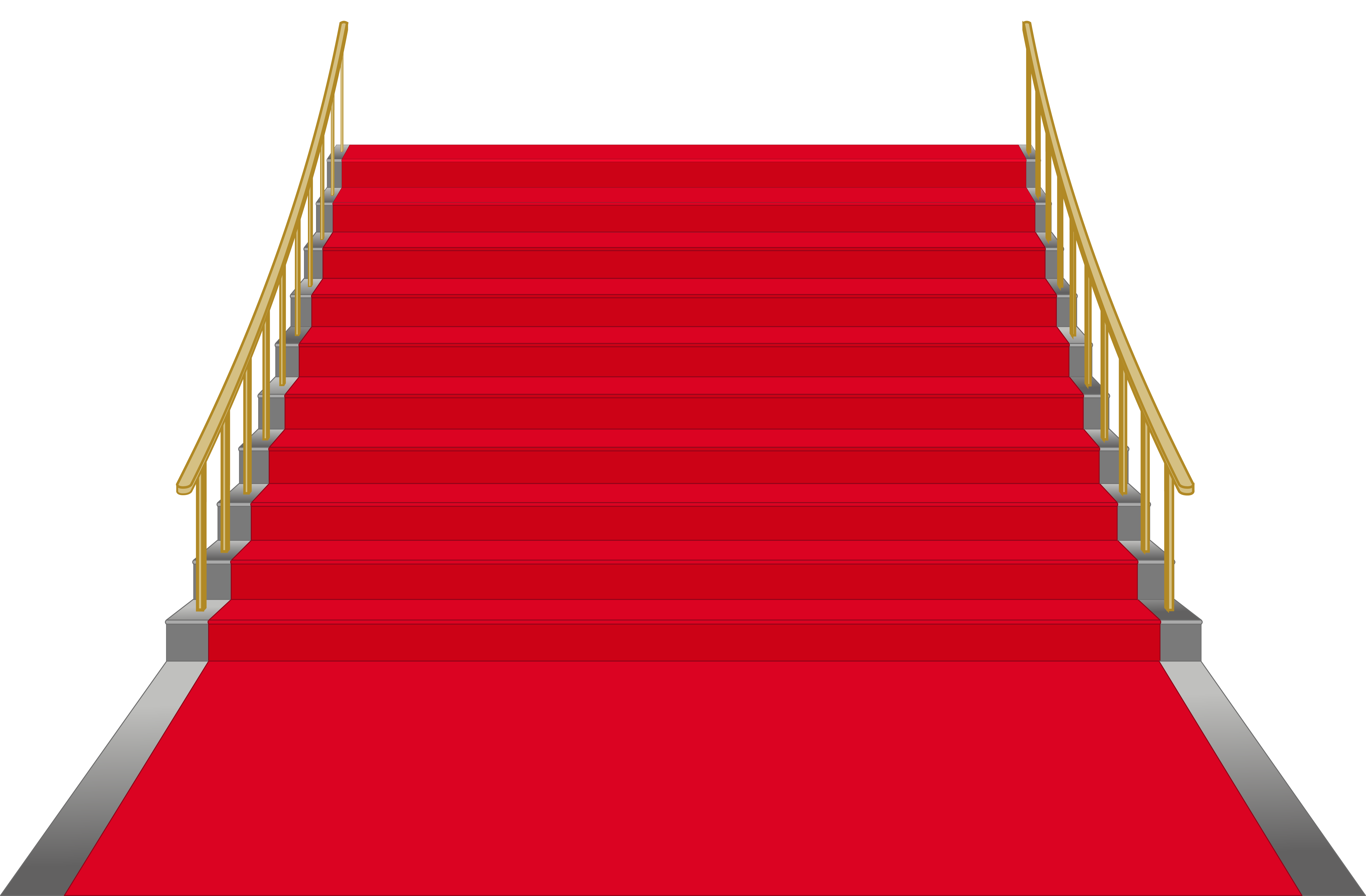 Png stairs. Red clip art image