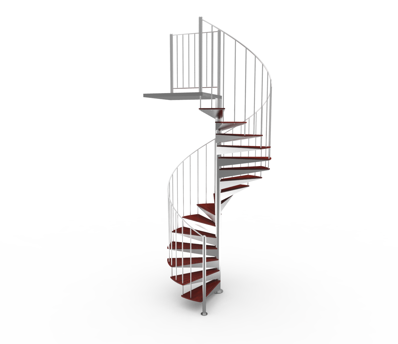 Stairs transparent modern minimalist. Enzie stair cases the