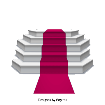 Steps vector stage. Red carpet png images