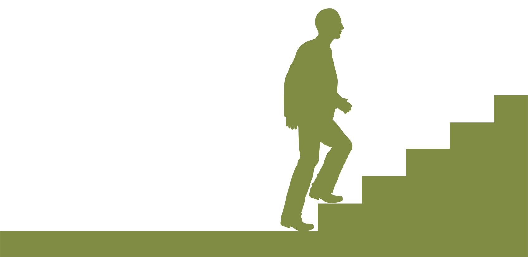 Walking stairs png silhouette. Up at getdrawings com