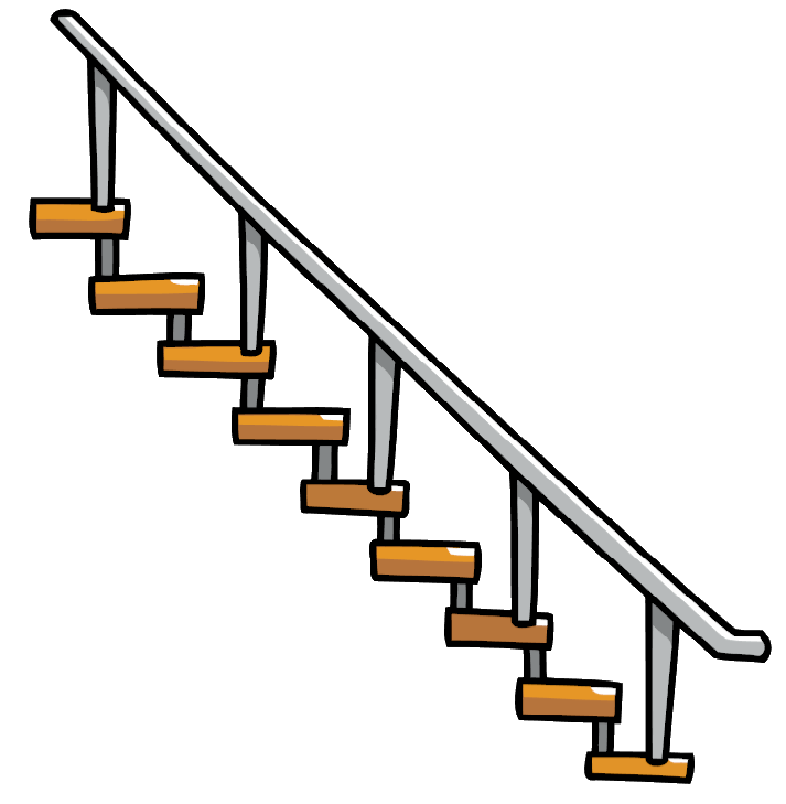 Staircase vector transparent. Image hanging stairs png