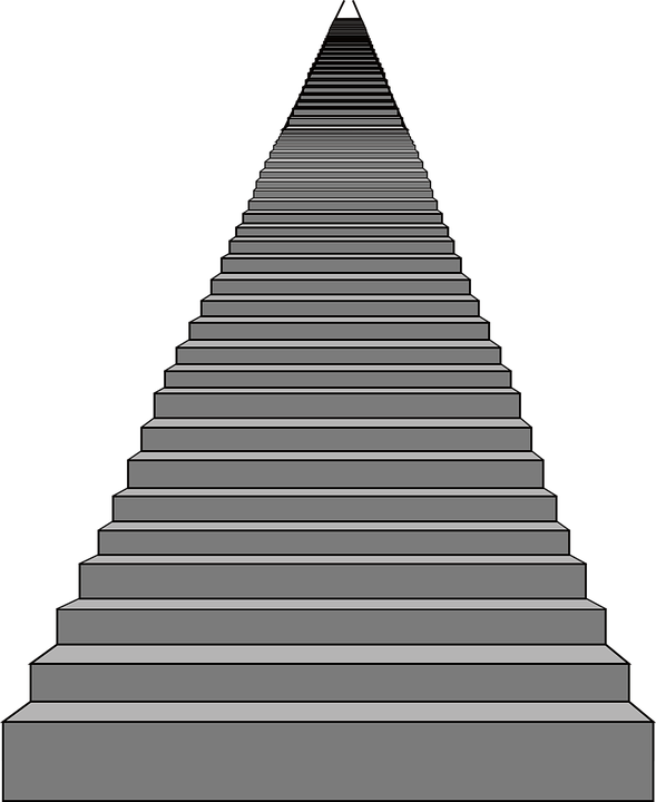 Staircase vector cartoon. Stairs png transparent images