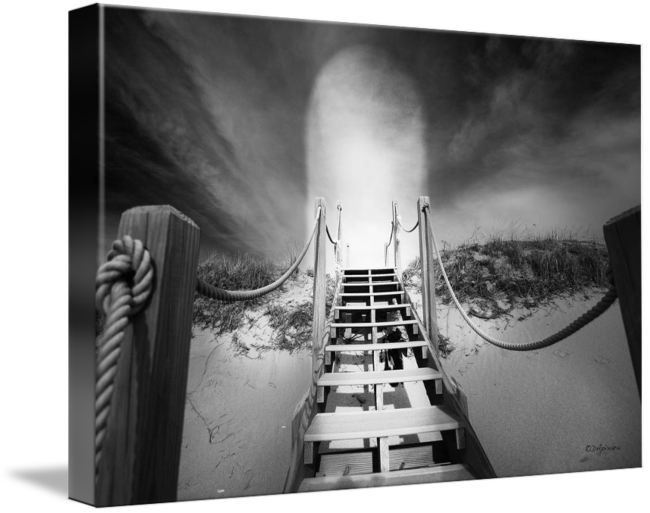 Stairs to heaven png. Black white photos by
