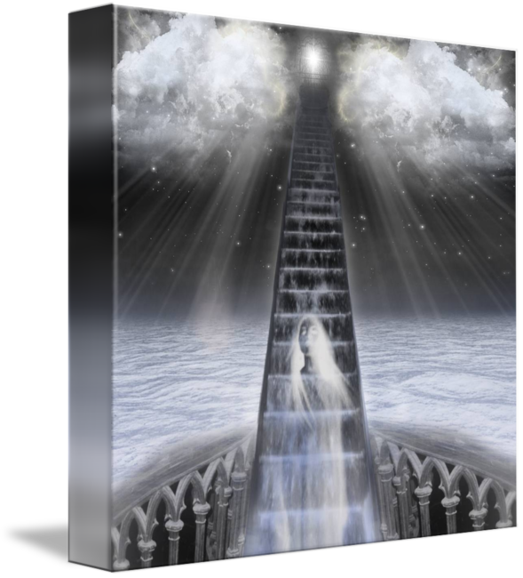 Stairs to heaven png. Stairway by spyder ayotte