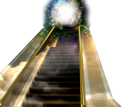 Stairs to heaven png. Psd images red