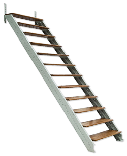 stairs transparent retractable