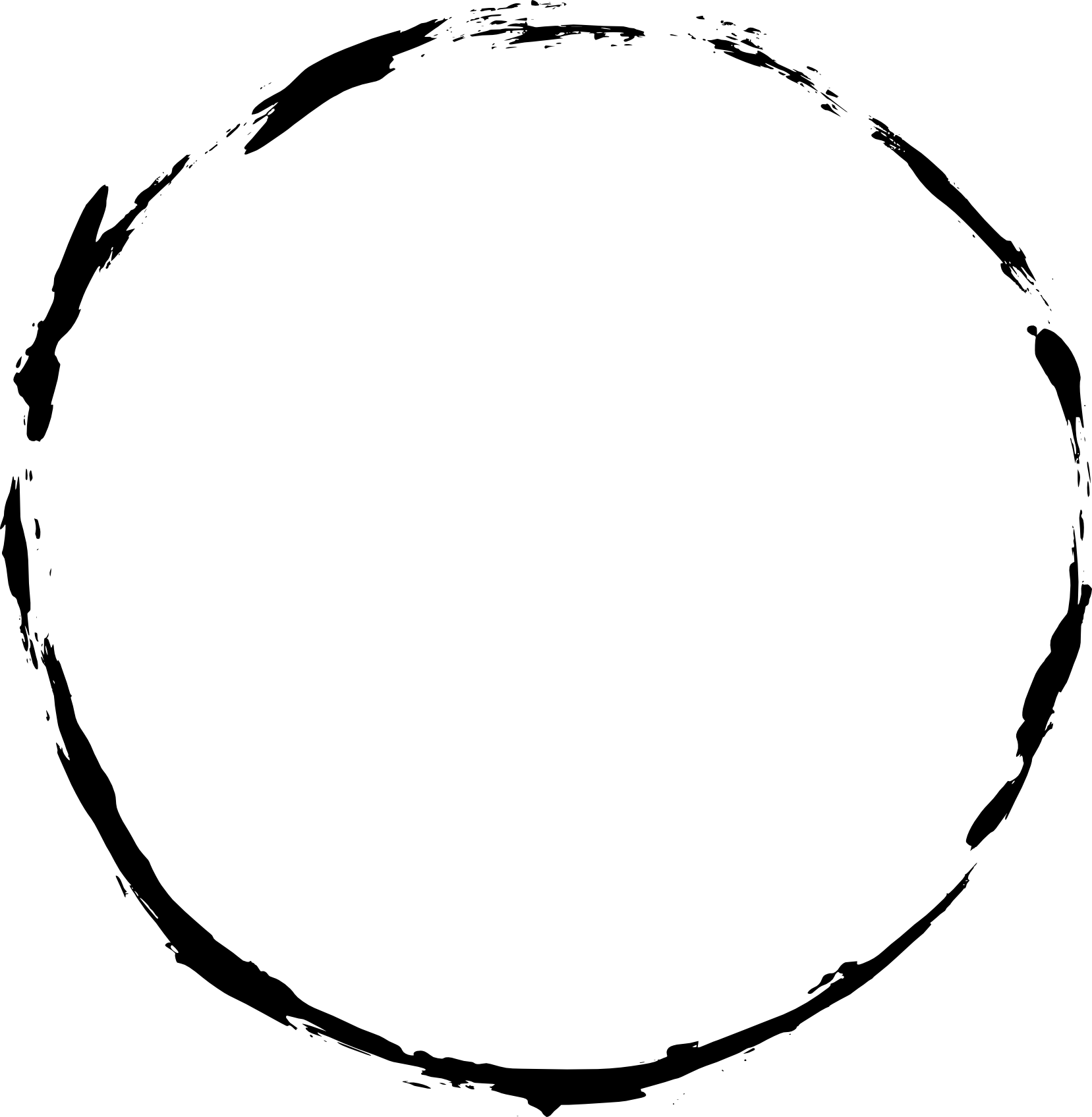 Stamp circle png. Grunge frame transparent